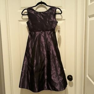 Rare Editions Dresses - BRAND NEW plum / purple color dress girls size 10